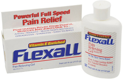 Flexall Pain Relieving Gel 454g -16oz Physio Cream Muscle Relief Aches
