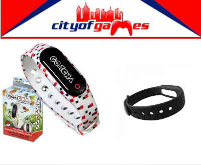 GO-TCHA for Pokemon Go Auto Catch+Collect Mode New GOTCHA Free Black Wristband