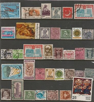INDIA COLLECTION Early to Modern USED as per scan #