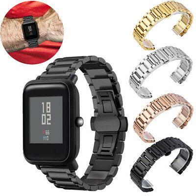 Stainless Steel Bracelet Watch Band Strap For Huami Amazfit Bip Youth Watch