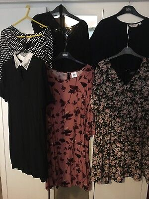 maternity dress bundle 14 L topshop JoJo maman bebe mamallicious  H&M Newlook