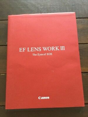 Canon EOS EF Lens Work 3 - The Eyes Of EOS, camera