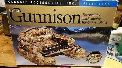 Gunnison Float Tube Fishing Hunting Real tree Camo Classic Accessories