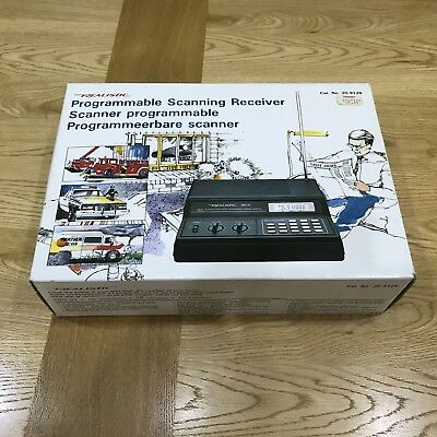 Realistic PRO-57 Programmable Scanning Receiver