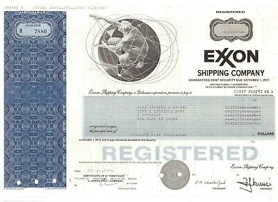 Exxon Shipping Company  1989    25000 $ Bond