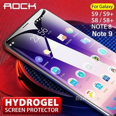 ROCK AQUA HYDROGEL FLEX Film Screen Protector Samsung Galaxy S9 S8 Plus Note 9 8