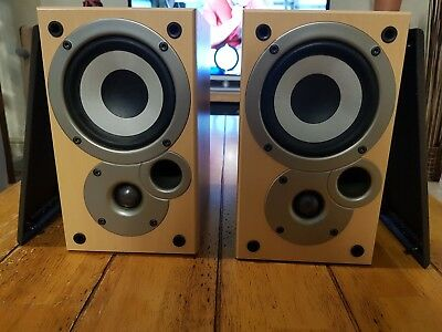 Pair Denon Mission SC-M50 Stereo Hi-Fi Speakers Good Condition
