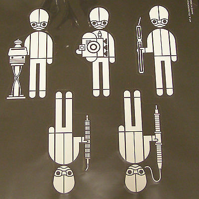 Star Wars Decal: Cantina band (5 members each 60x130mm)