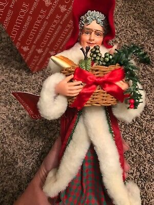 clothique santa collectibles possible dreams a basket of cheer