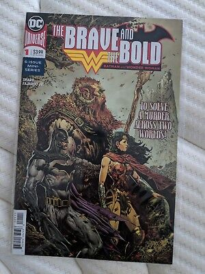 THE BRAVE and the BOLD: BATMAN & WONDER WOMAN #1 of 6 (2018) DC MINI-SERIES