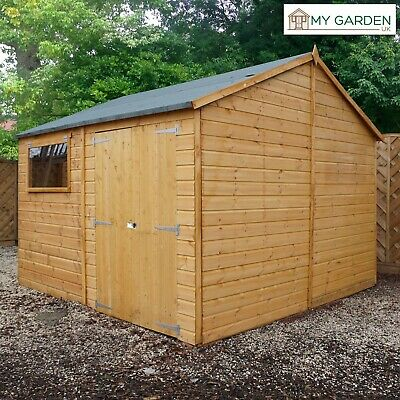 Home & Garden 7x5 Premium Workman Shiplap Apex Shed Garage Workshop Garden Building 7ft 5ft