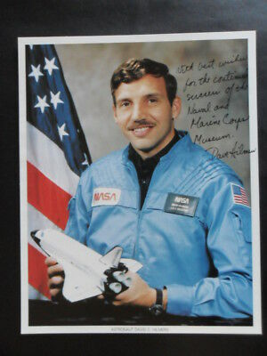 NASA Signed Astronaut  DAVID C HILMERS  (A)