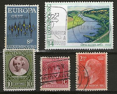 Luxembourg 5 - 1 MH 4 Used