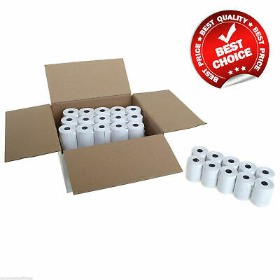 20 Thermal Till Rolls 57 x 40mm Credit Cards Machine Special Offer