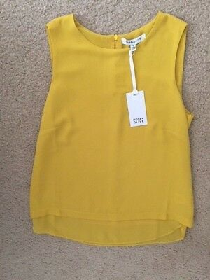 Rose & Olive Yellow Tank Top Size S
