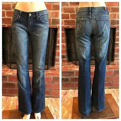 7 For All Mankind 7FAM A Pocket Bootcut Jeans Size 27