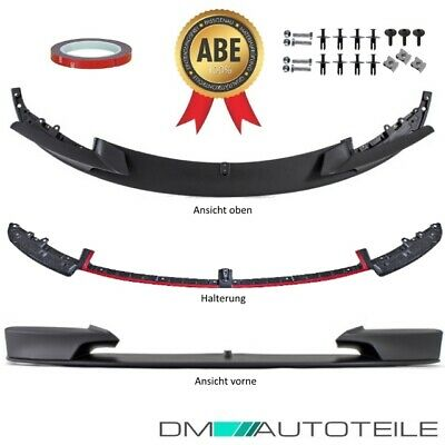 SPORT-PERFORMANCE Front Spoiler Lip Splitter for BMW F30 F31 M BUMPER CERTIFIED