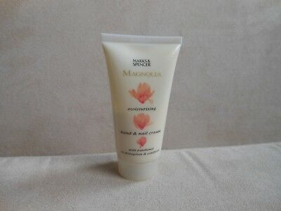 Lovely long lasting M&S Magnolia moisturizing hand & nail cream travel size 50ml