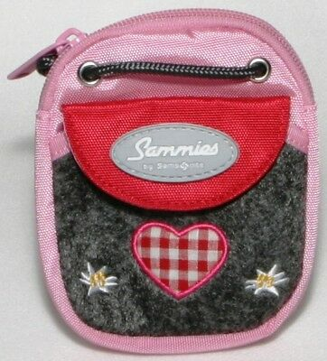 "Sammies by Samsonite® Brustbeutel Geldbeutel Herz Reh ""Country Love"" - NEU !"
