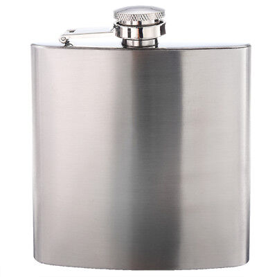 Flasque A Alcool Whisky En Acier Inox 6 Oz Bistrot Bar B9J7