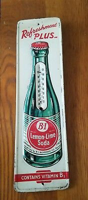 B-1 Thermometer Vintage Advertising Thermometer