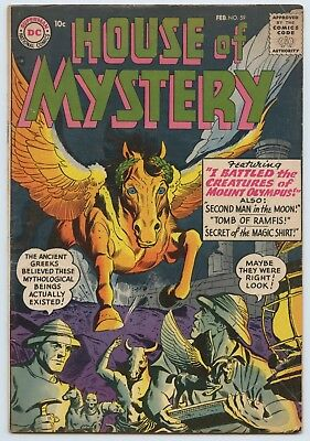 House Of Mystery #59 FN- Silver Age 1957