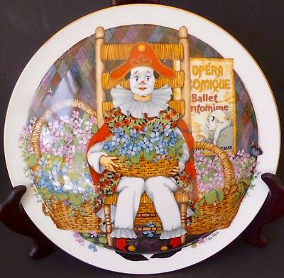 """Royal Doulton decorative """"Behind the painted Masque by Ben Black"""