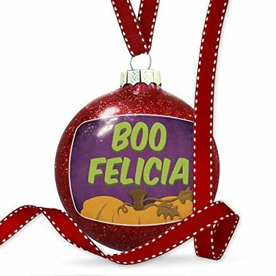 Christmas Decoration Boo Felicia Halloween Pumpkin Top Ornament