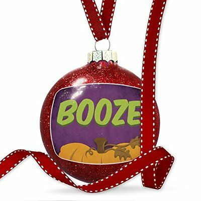Christmas Decoration BOOze Halloween Pumpkin Top Ornament