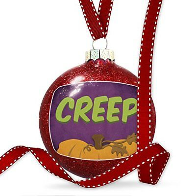 Christmas Decoration Creep Halloween Pumpkin Top Ornament
