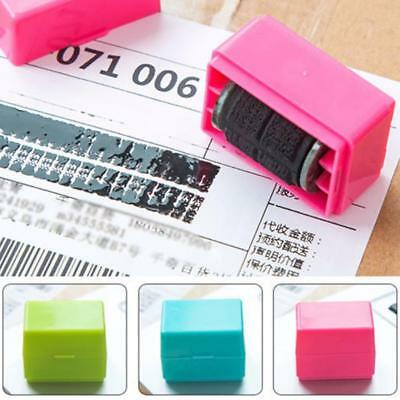 Guard Your ID Roller Stamp SelfInking Stamp Messy Code Security Office 1PCS GA