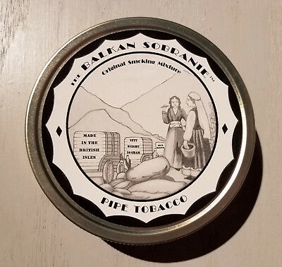 Balkan Sobranie - factory sealed collector tin J.F. Germain Esoterica
