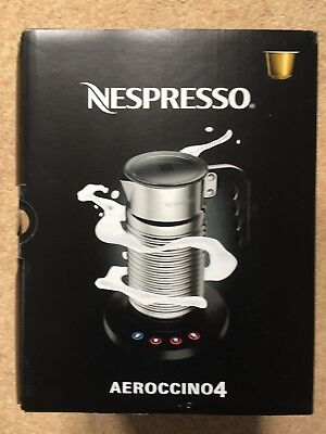 Nespresso Aeroccino 4 Latest Model Milk Frother Boxed and unused