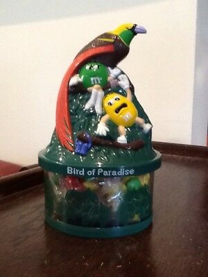 M & M M&Ms Bird Of paradise Money Box 2005 Collectable