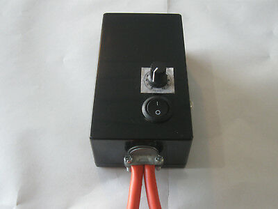 0-100% Farm Motor Speed Controller Vehicle Light Dimmer 0-24 or 12 Volt 10A PWM