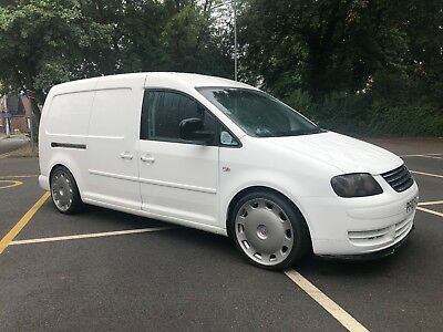 VW Caddy Maxi 1.9tdi 2010 19S, LOWERED, TOURAN FRONT, SPLITTER, EURO STYLE RIMS
