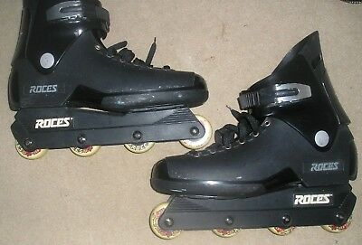 Roces Mens Gents Skates Inline size UK 11-13.5 inner sock size 14