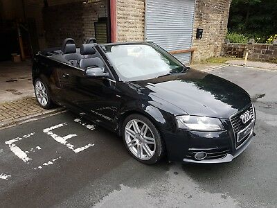2011 Audi A3 1.8 Tfsi Sline Cabriolet S Tronic Drive Away Salvage Not Damaged