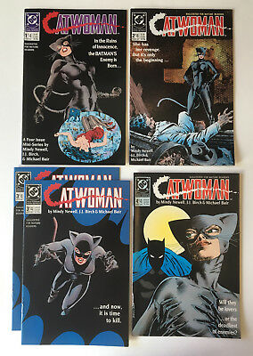 Catwoman #1-4 (1989) Limited Series-complete (xtra issue #3) NM-*