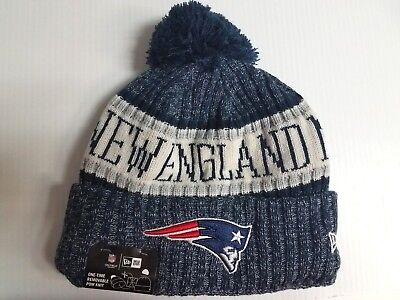 New England Patriots New Era Knit Hat On Field 2018 Sideline Beanie Stocking Cap
