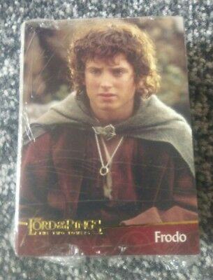 topps Lord of the rings x the two towers x complete base set 90 cards x