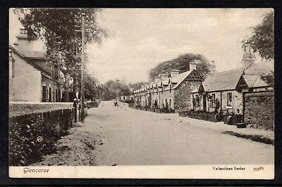 Glencarse Perthshire c.Early 1900s Unposted Card With Village Scene See Scan
