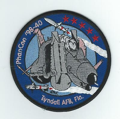 TYNDALL AFB PHANCON 98 patch