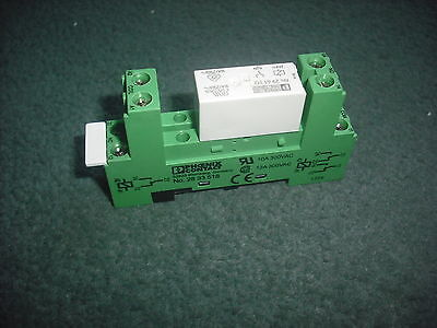PHOENIX CONTACT 2833518 SOCKET, RELAY, FOR PR1 SERIES+Relay Installed