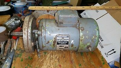 Gryphon Electric Motor  1 phase 230/250  1380 rpm  Southampton
