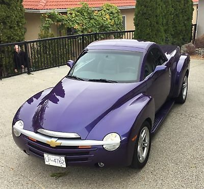 Chevrolet: SSR LS One of only 1227 in this color, ULTRA VIOLET.........RETRACTABLE HARDTOP TOO!!