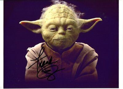 star wars FRANK OZ autographed HAND SIGNED 2862