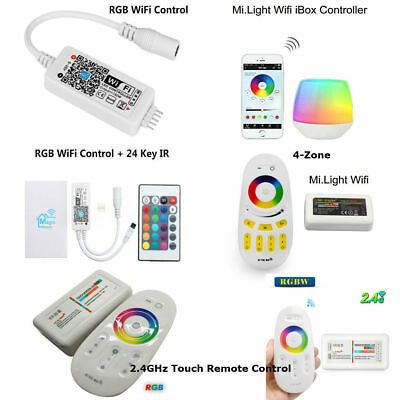 Magic Home WiFi 4-Zone Mi-Light RF Touch Screen 2.4GHz For RGBW Or RGB LED Light