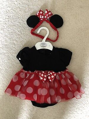 Minnie mouse Disney Baby Outfit 0-3 Months