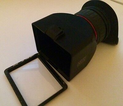 LCD Viewfinder 3X Magnification GGS Perfect Foldable for Canon, Nikon, Sony DSLR